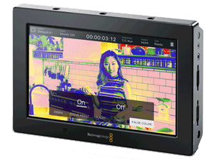 Mode False Color sur moniteur Video Assist 4k