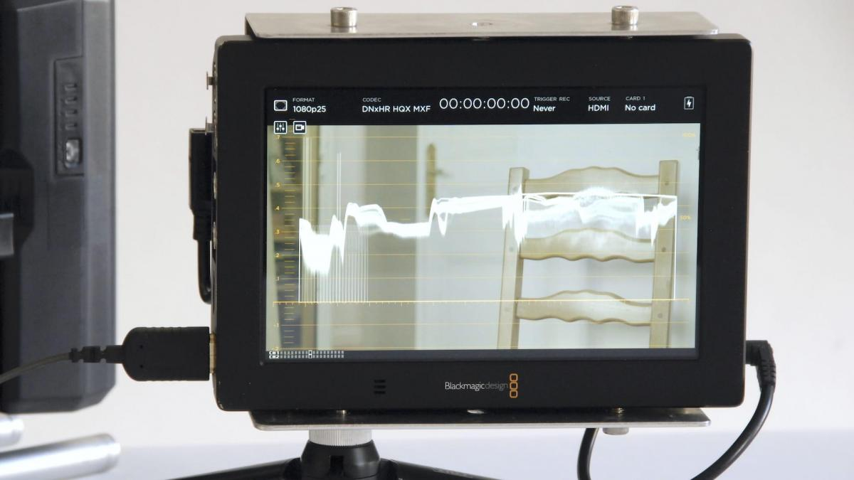 Video assist7 waveform